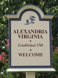Alexandria VA sign