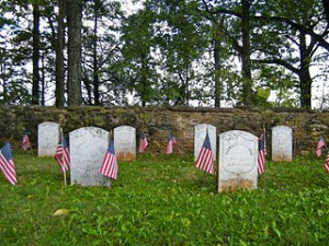 Civil War graves