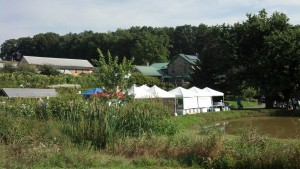 "Spiral Path Farm's ""Open Farm Day"" featured a mini farmers market"